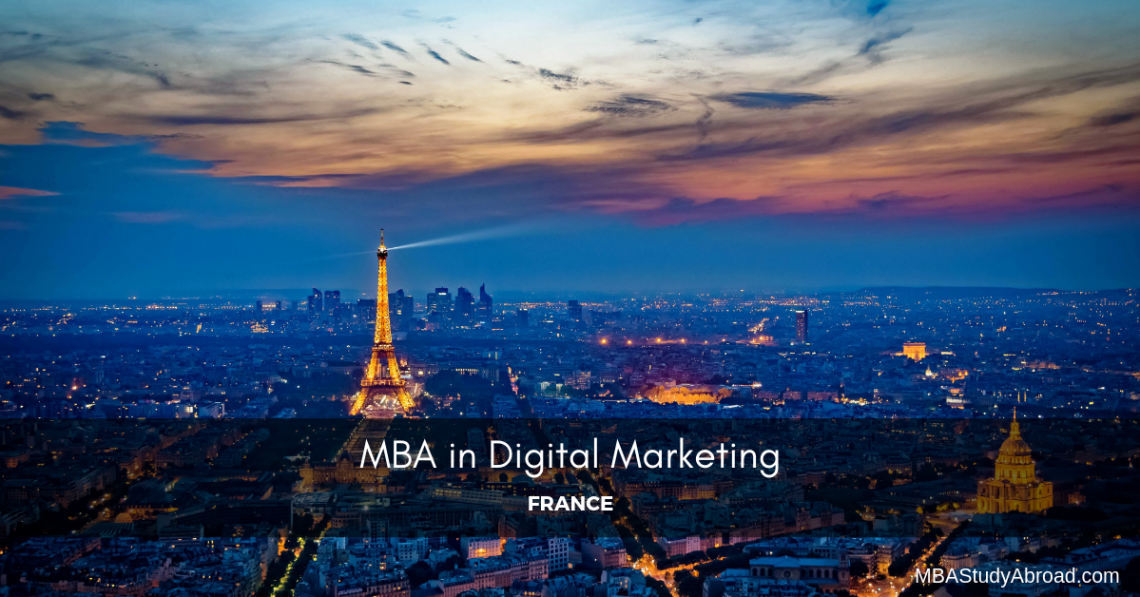 MBA IN DIGITAL MARKETING in France