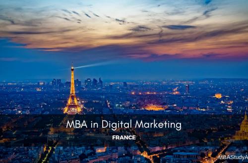 MBA IN DIGITAL MARKETING in France