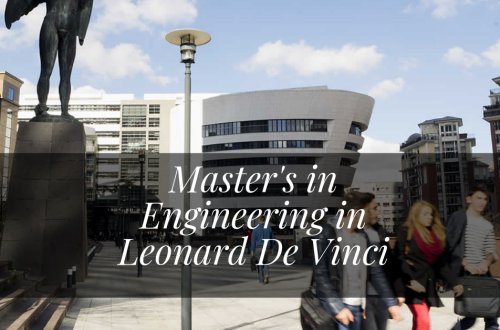 Master's in Engineering in Leonard De Vinci Paris