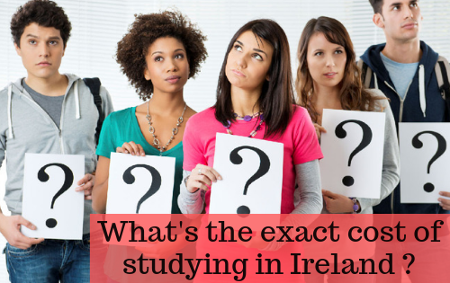 cost to study in Ireland