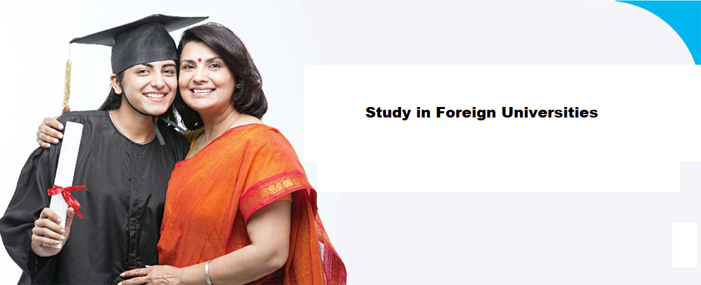 Study in Foreign Universities