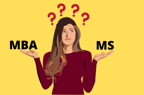 MBA V/s MS