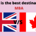 MBA in UK v/s Canada